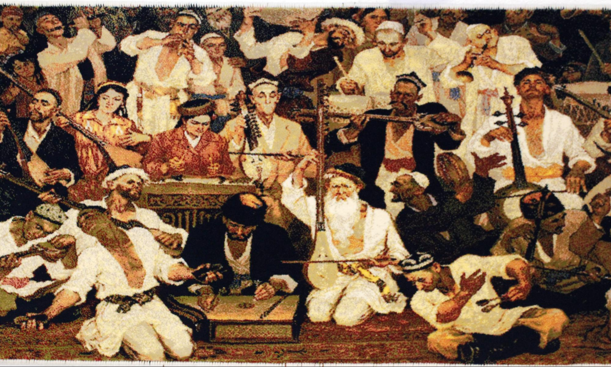 Uyghur oil painting