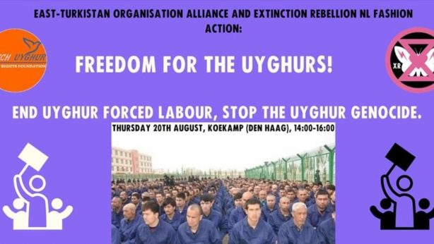Freedom for Uyghurs! Protest the Uyghur genocide in China