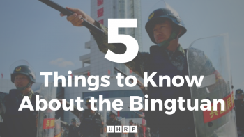 EXPLAINER—Five Things to Know About the Bingtuan
